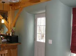 Straw Bale House in Maine   Aurora Timberframes of MaineThis timber frame house has straw bales packed into the walls between the timbers  Straw provides excellent insulation and is a renewable resource