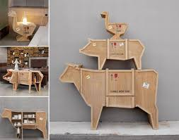 packing crate furniture. beautiful packing selettiu0027s sending animals u2013 farmyard furniture collection intended packing crate furniture e