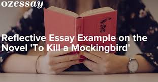 reflective essay example on the novel to kill a mockingbird