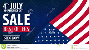 American Independence Day 4th Of July Exclusive Offers Sale Sale