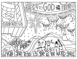 Small Picture 2016 Advent Coloring Pages 85x11 Illustrated Childrens Ministry