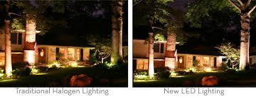 halogen vs led outdoor lighting