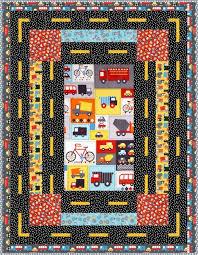 Mode of Transportation Free Pattern: Robert Kaufman Fabric Company &  Adamdwight.com