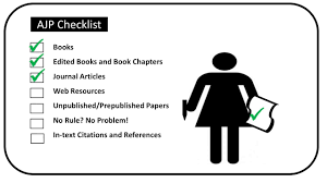 Journal Articles Ajp Style Research Guides At University Of