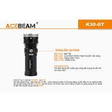 Đèn pin chiếu xa ACEBEAM K30GT KÈM PIN- LED LUMINUS độ sáng 5500lm chiếu xa  1024m dùng 3 pin 18650 - Đèn pin