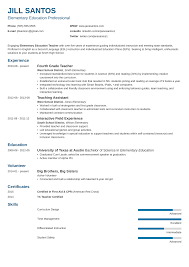 Resume Template For Teachers Teacherassistant Teacher Assistantle