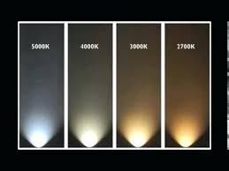 Led Light Color Chart Light Color Temperature Erkekmodasi Info