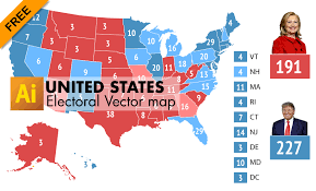 free editable maps free editable electoral vector map of usa graphic flash sources