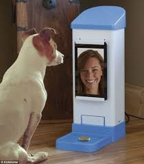 Dog Biscuit Vending Machine Adorable A 48st Century 'dog And Bone' ICPooch Lets You Chat To Your Canine