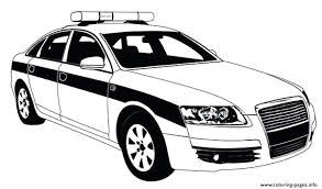 Police Car Coloring Free Police Car Coloring Pages To Print Police