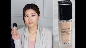 dior forever flawless perfection fusion wear foundation review