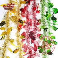 12 Yards- Gold Red Green Streamers Christmas Tree Decoration Ornaments Xmas  Home Parties Decor Christmas Tree Decoration Decorations Red Green Chr ...