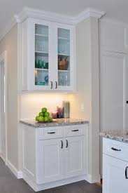 glass door armoire kitchen contemporary with kitchen cabinets kitchen remodeling