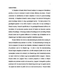 essays on discipline and punish foucaults discipline and punish and power and sex essay bartleby