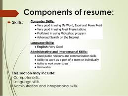 Computer Skills On Resume Classy Resume For Computer Skills Free Resume Templates 28