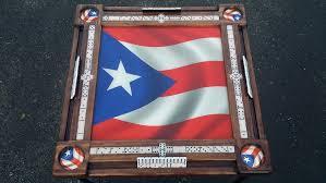 Domino Table Puerto Rico Design Amazon Com Puerto Rican Flag Domino Table With Puerto Rican