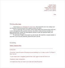 Format For Letter Of Recommendation – Citybirds.club