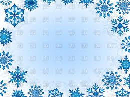 blue snowflakes white background. Beautiful Snowflakes Christmas Frame Of Blue Snowflakes On White Background Vector Image U2013  Artwork Holiday  Click To Zoom With Blue Snowflakes White Background M