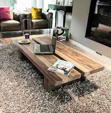 rinjani reclaimed wood coffee table