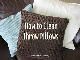 Can You Wash Decorative Pillows