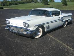 1958 pontiac bonneville 2 door hardtop coupe air suspended original 49 000 miles