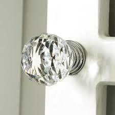 crystal furniture knobs. K9 Clear Crystal Knob Chrome Glitter Kitchen Cabinet Knobs Handles Dresser Cupboard Door Home Furniture N