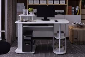 office desk hardware. white pc workstation wooden computer tableoffice desk hardware parts office