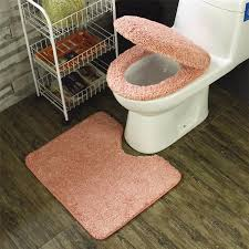 winter bathroom seat warmer c fleece carpet toilet seat cover soft case closestool lid cover