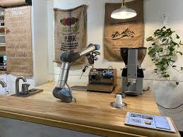 You can brew with a touch of a button and in three different temperature settings. Robotic Barista Providing Contact Free Drinks At Portland S In J Coffeedaily Coffee News By Roast Magazine