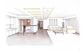 living room interior design sketch kitchen aebbfb  surripuinet