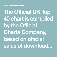 Official Charts 40 The Official Uk Top 40 Chart Is Compiled By The Official