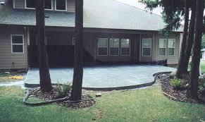 Concrete Patio Designs Layouts Home Design Gallery Ideas