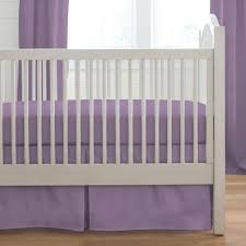 image of purple crib bedding sets and curtains