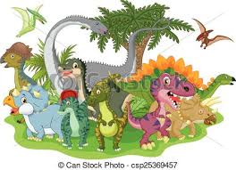 Image result for dinosaurs clipart