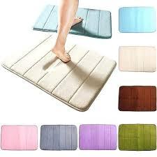 shower rug memory foam bath bathroom bedroom floor shower mat rug non slip absorbent soft shower