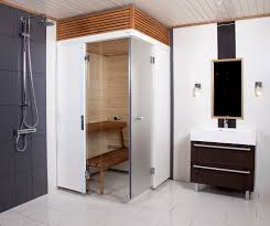 Harvia SmartFold bathroom sauna ...
