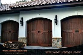 wooden garage doors s faux wood for d
