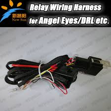popular e46 bmw relay buy cheap e46 bmw relay lots from e46 smd led angel eyes drl led lights lamp wiring relay harness for bmw e36e38 e39 e46