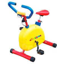 Велотренажер механический детский с компьютером, <b>Moove Fun</b> ...