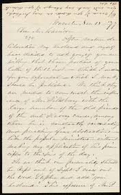 Letter from Abby Kelley Foster, Worcester, [Mass.], to William Lloyd  Garrison, Nov. 18, [18]77 - Digital Commonwealth