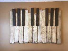 diy wooden pallet piano wall art the handstand regarding most stylish wood present house ideas for