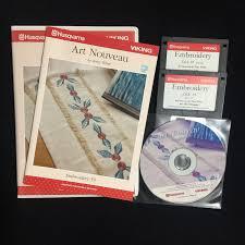 Husqvarna Designer 1 Embroidery Disks Husqvarna Viking Designer 1 Embroidery Disk 59 Art Nouveau Multi Format Cd
