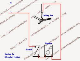 how to wire a ceiling fan with switch & dimmer electrical online 4u Light Switch Wiring Diagram For Dimmer wiring a ceiling fan diagram wiring diagram for light dimmer switch