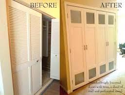 half louvered sliding closet doors image of door alternatives bi fold inch table custom clear glass