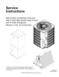410a Piston Chart Amana R 410a Service Manual Manualzz Com