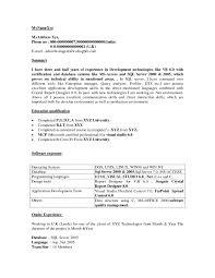 sample dot net resume for experienced 5 dot net resume sample