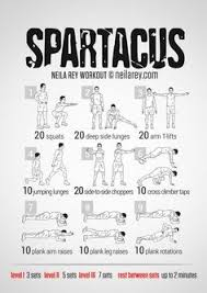fitness tips spartacus workout