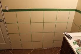 faux painting ceramic tile walls