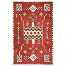 mesa red multicolor 8 ft x 11 ft rectangle area rug