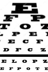 An Eye Sight Test Chart Stock Photo Wavebreakmedia 88043676